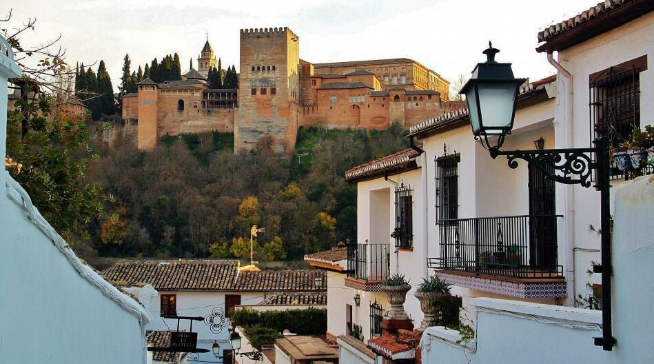 Granada, La Alhambra, El Albaicín